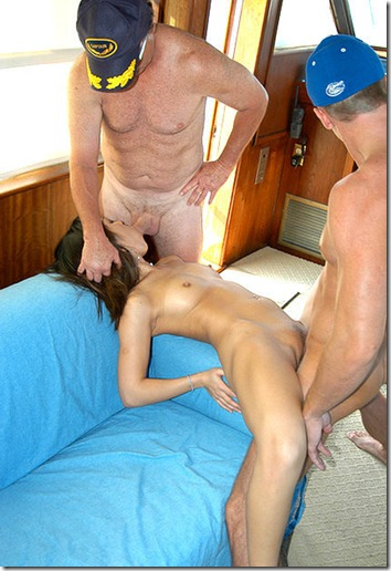 captain-stabbin-hot-babe-working-on-two-cocks